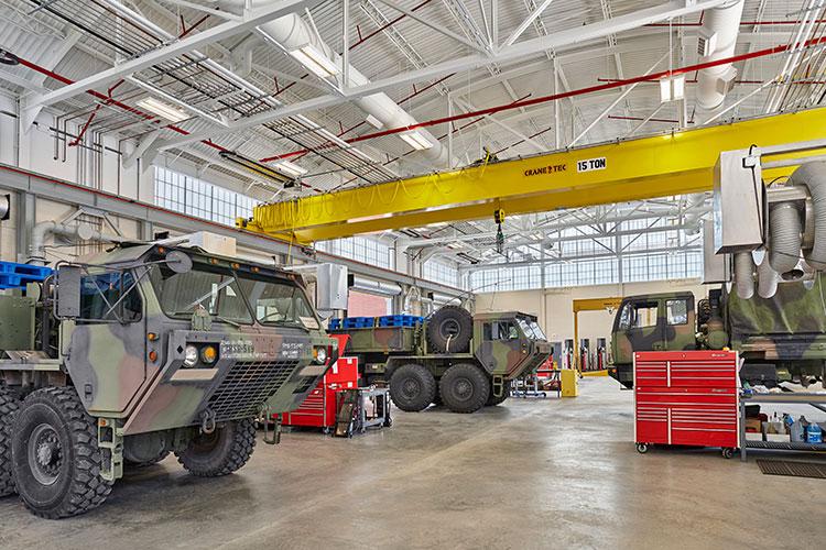 Indiana National Army Guard Maintenance Shop #8